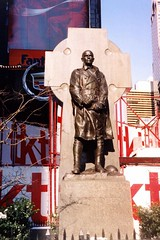 NYC: Duffy Square - Father Duffy Statue by wallyg, on Flickr