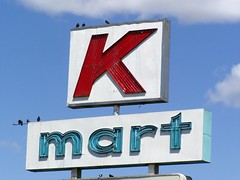 20060527 K-mart (Tom Spaulding) Tags: california ca old sign vintage neon signage sacramento us50 kmart highway50 route50 highway99 route99 us99 historicusroute50 historicusroute99