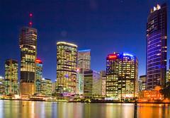 Brisbane Riverside at Blue Hour-05+ (Sheba_Also Thanks for 9+ Million Views) Tags: river riverside dusk centre brisbane