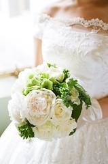 結婚式のブーケ
