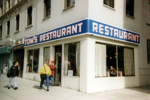 NYC - Morningside Heights: Tom's Restaurant by wallyg.