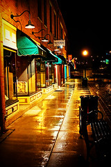 Rainy Storefronts (fensterbme) Tags: nightphotography columbus ohio urban wet rain interestingness lomo canon20d streetphotography highcontrast rainy storefront columbusohio fenstermacher processed effected fauxlomo shortnorth 2470mm fensterbme canon2470mm interestingness408 i500 canonllens canon2470mmf28l explore08jun06 lomfakers
