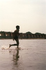 Cousin 1 picture 2 (Anand Krishnamoorthi) Tags: tamilnadu cauvery kallanai kollidam