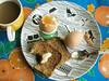 home... (johanna) Tags: home coffee eggs oranges iateit
