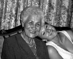 Happy (dariuszka) Tags: family woman love beauty grandmother joy warmth happiness oldandyoung hereyes babuszka