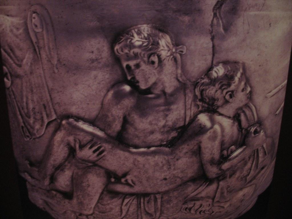 The Warren Cup, Ancient Erotica Exhibit, The British Museum, London  (nikoretro)