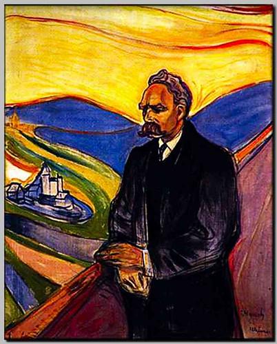 Friedrich Nietzsche (by Edvard Munch)