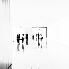 emptiness (elfis gallery) Tags: street people blackandwhite bw white black art monochrome publicspace photoshop grey top20bw cool frankfurt empty manipulation minimalism schwarzweiss weiss minimalistic schwarz emptiness todolist lessismore 50v5f 5favs scharzweiss graustufen photophilosophy schwarzundweiss top20street bilderfantasien