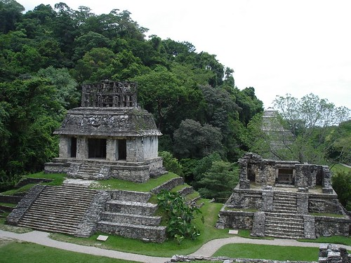 Arriving at Palenque