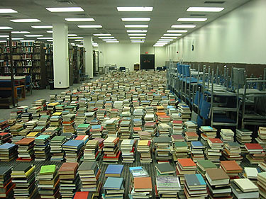 the library shuffle
