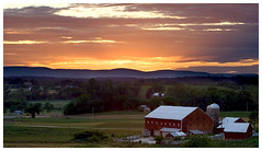 Maryland Sunset (2) (Jonathan Urrutia) Tags: sunset color maryland pastels brethren newwindsor