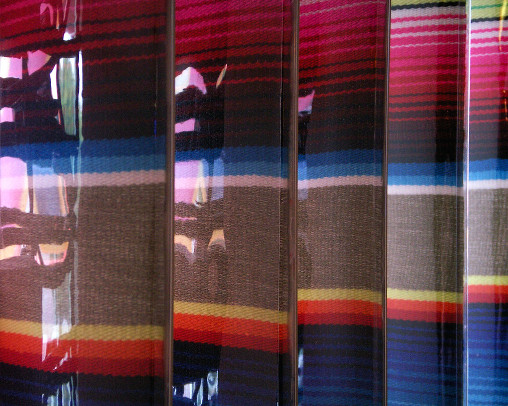Mexican Blinds, Abstract Detail