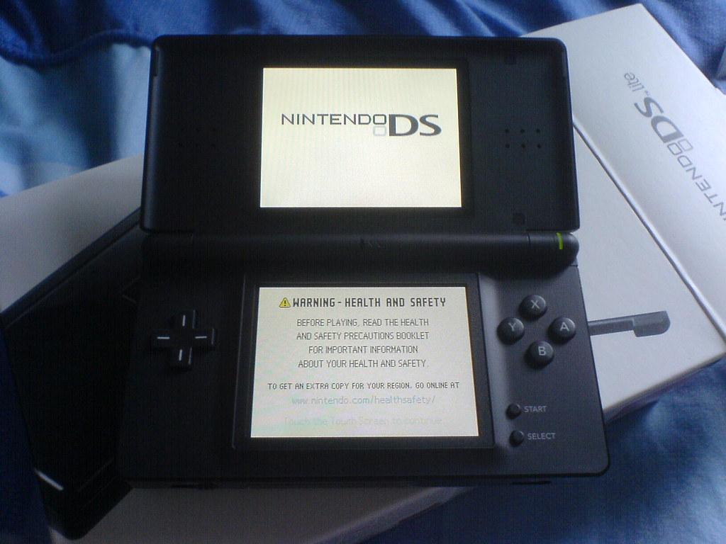 Black DS Lite