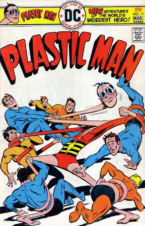 DC comics El hombre plástico