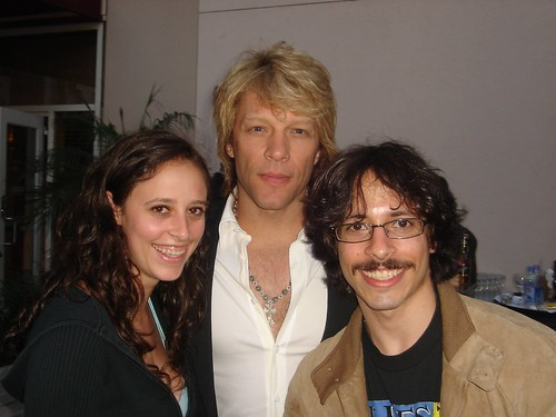 Me and My brother with Bon Jovi