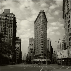 NYC No. 55 (T. Scott Carlisle) Tags: nyc newyork film famous grain hasselblad architcture flatiron repeat tsc trite overdone tphotographic tphotographiccom tscarlisle tscottcarlisle