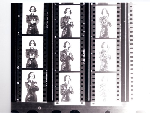 Negative contact sheets/proofs