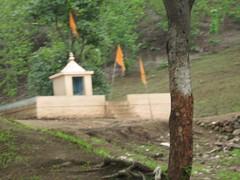 Shiv Sena temple!