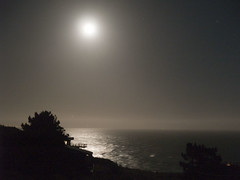full moon over bolinas