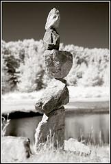 Rocks (geckonia) Tags: california canon ir infrared canond30 nearinfrared hoya72 infraredcamera convertedd30 convertedcamera
