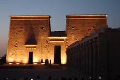 Philae Temple (orclimber) Tags: temple ancient ruins desert egypt 2006 traveller egyptian philae imaginative pharoh imaginativetraveller orclimber