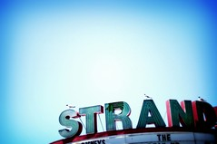 strand (squarerootofnine) Tags: blue color strand newjersey saturated nj oceancity jerseyshore fakelomo movietheater bigframe nycvacation2006