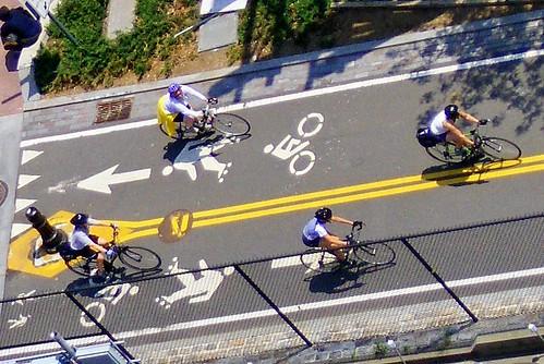 west side greenway bike path