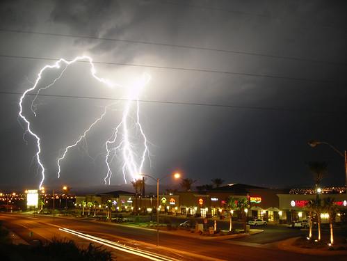Lightning Show in Nevada