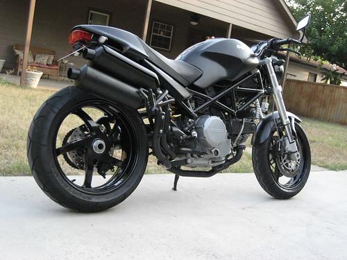 2005 Ducati Monster S2R Dark,motorcycle, sport motorcycle, classic motorcycle, motorcycle accesorys