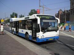 Bus in Amsterdam