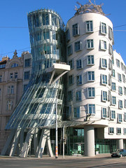 Dancing House Prague by Frank Gehry by ccwrks