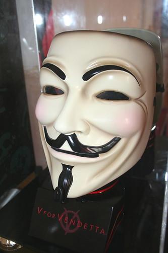 V - replica mask