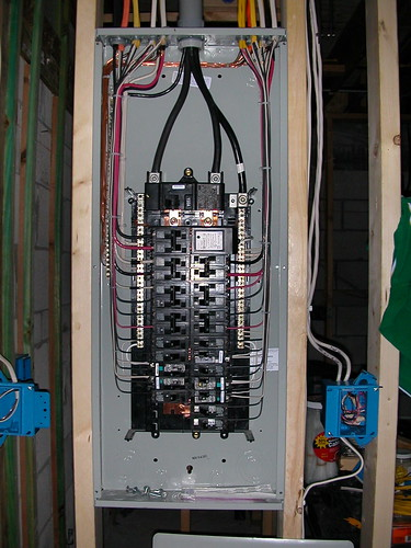 wiring a homeline service panel detailed wiring diagramSquare D Circuit Breaker Panel Wiring Diagram #3