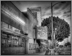 laemmle theatres 7 (Kris Kros) Tags: california ca family bw usa house classic film public digital photoshop movie lens photography la losangeles interestingness high cool interesting nikon colorado pix theater dynamic cs2 interestingness1 ps brush historic business explore socal owned kris nostalgic nightlife pasadena playhouse range sr hdr blvd nyt newyorktimes kkg theatres dolby laemmle vromans coloradoblvd moviehouse 3xp photomatix 473 pscs2 kros jdj kriskros vroman explorefrontpage kk2k laemmletheatres wasitdonewithalensorabrush familyownedbusiness kkefp kkgallery