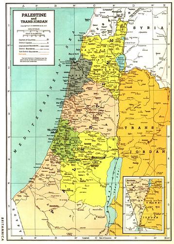 Otoozoki wrote Where is israeel before 1945