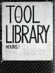 Tool Library Hours (Takoma Park, MD)