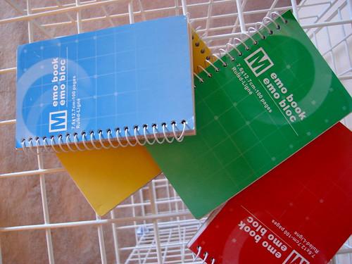 Memo books
