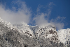 Wispy (Mason Aldridge) Tags: winter snow mountain mountains peak landscape december beautiful pretty golden canada britishcolumbia fraservalley hope bc alpine canon 6d 80200 8020028 eos 70200 magicdrainpipe drainpipe