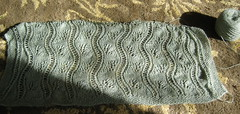 Baltic sea stole in progress