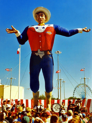 Big Tex is Dirk Nowitzki Jr. - flickr/StevenM_61
