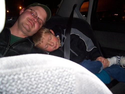 tired boys