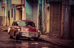 After the Rain - Havana (IV2K) Tags: street classic wet rain classiccar sony havana cuba centro castro chrysler cuban habana kuba fidelcastro lahabana a7s