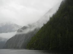 In the Rain (Pandora-no-hako) Tags: ocean cruise mist mountain alaska landscape waterfall tongassnationalforest nationalmonument ketchikan noordam 2015 tongass mistyfjords mistyfjordsnationalmonument