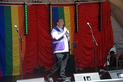 "Alan Butler introducing the Guest Speakers at Plymouth Pride 2015 • <a style=""font-size:0.8em;"" href=""http://www.flickr.com/photos/66700933@N06/20604218096/"" target=""_blank"">View on Flickr</a>"