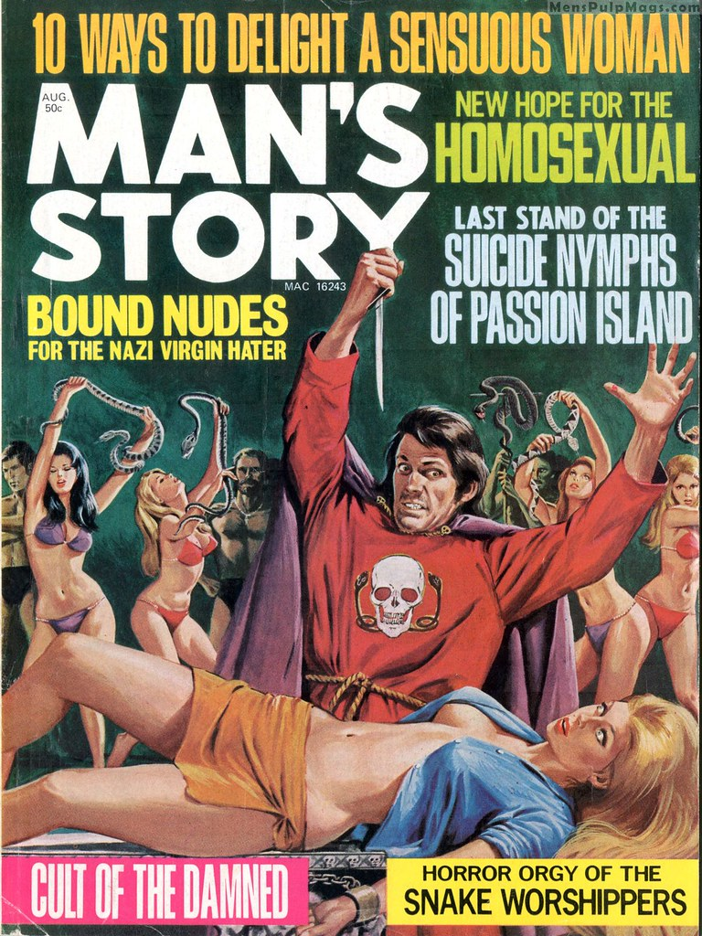 Cover story for gay woman