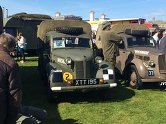 Two Tillies (dougie.d) Tags: uk austin army wwii airshow gb ww2 ayr hillman tilly prestwick commer lowgreen scottishairshow