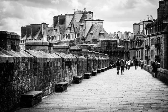 City wall stroll