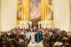 Archbishop Cupich (Loyola University Chicago) Tags: catholic ministry faith priest mass mds lsc cupich stud1507
