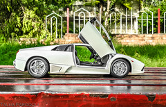 Cleanest profile of them all. (TAF27) Tags: pakistan white metallic pearl lamborghini supercar mercy islamabad murcielago v12 lambo maisto murci pearlwhite lp640 metallicwhite murcielagolp640