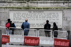 Monument sign (Bob the Binman) Tags: london monument nikon greatfireoflondon 1666 londonist puddinglane d7100 platform39